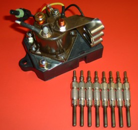 7.3L-kit  Sprinter Glow Plug Relay Wiring Diagram on