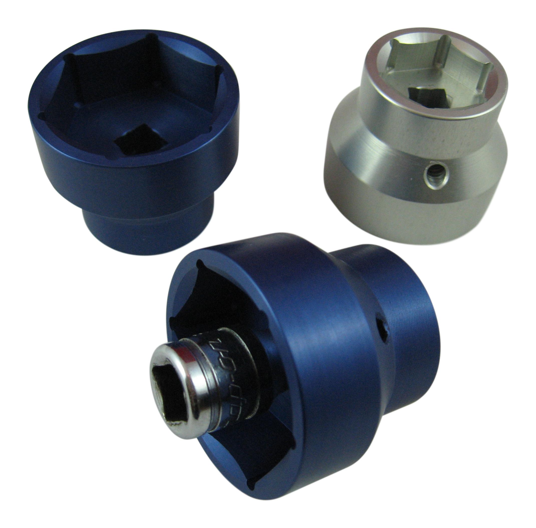 Ford V8 7.3L PowerStroke Diesel Fuel Filter Cap Cover Socket Tool Adapter Truck