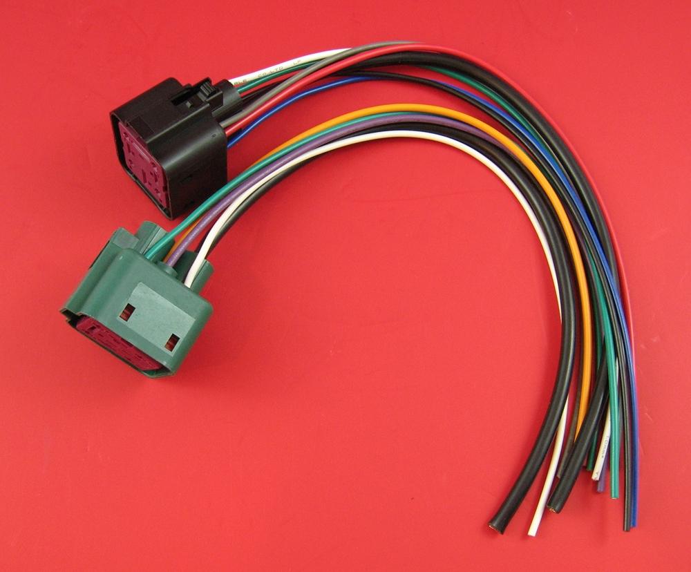6.0L 7.3L 6.4L Powerstroke Glow Plug Module Controller Pigtail Set  Excursion Glow Plug Wiring Harness on