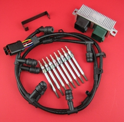 6.0L Ford Powerstroke Glow Plug Kit