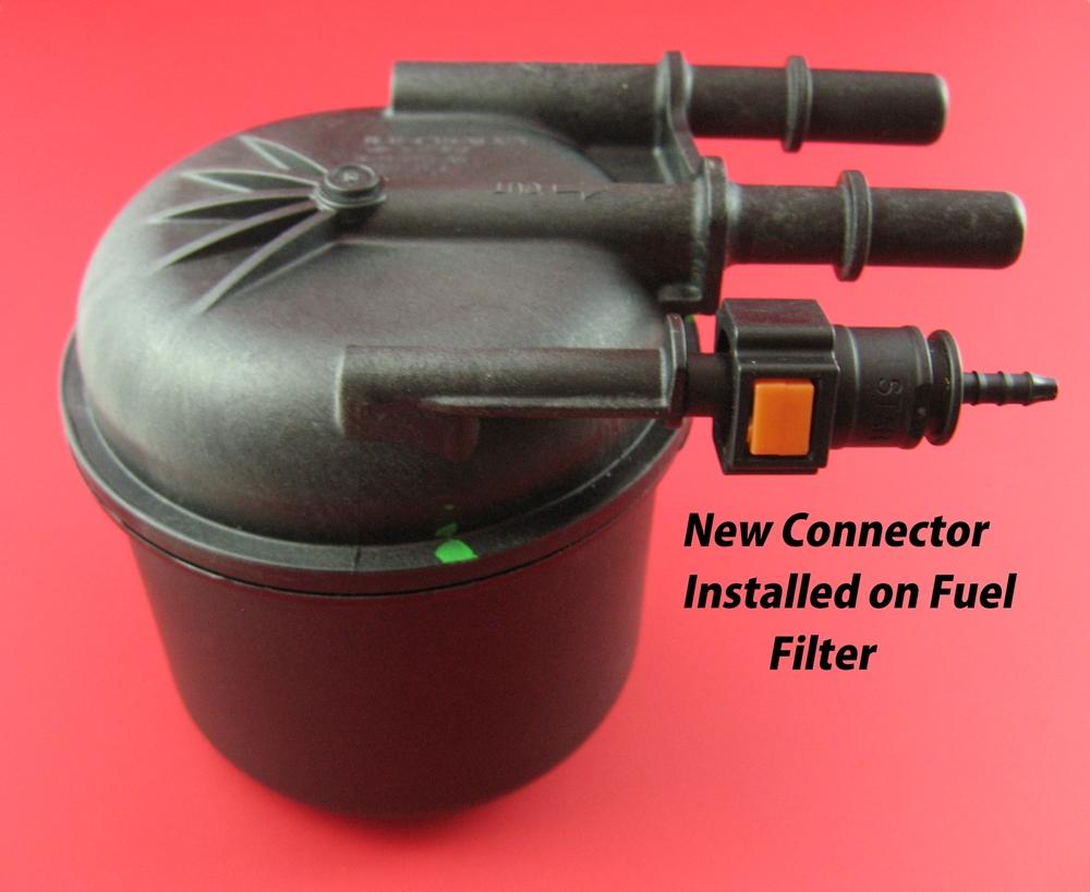 6.7 Powerstroke Fuel Filter Connector (2017+)   Accurate DieselAccurate Diesel