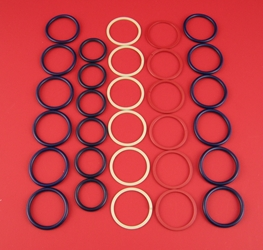 CAT C7 / C9 Fuel Injector Seal Kit C7 injector seal kit, c9 injector seal kit, CAT c7 injector seal kit, CAT c9 injector seal kit, caterpillar c7 injector seal kit, caterpillar c9 injector seal kit, cat c7 injector orings, CAT c9 injector orings, 297-4841, 2974841, SK05476