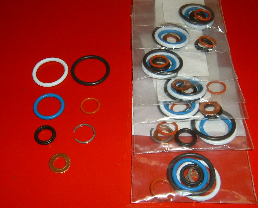 Ford 6 0 Fuel Rail 60 Powerstroke System Diagram Wire Diagrams Pressure 0l Complete Injector Seal Kit