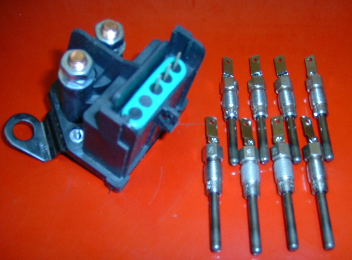 65 Diesel Glow Plugs