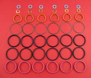 DT466 / 530 International Fuel Injector Oring Seal Kit DT466 Injector Seal kit, DT466 Injector Oring Kit, DT466E Injector Seal Kit, DT466E Injector Oring Kit, 94, 95, 96, 97, 98, 99, 00, 01, 02, 03, 04, DT466 Injector O-ring Kit, DT466 Injector Orings, DT530 Injector Oring Kit, I530 Injector Seal Kit, HT530 Injector Seal Kit