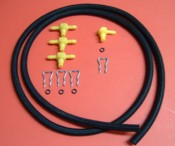 Duramax LLY LBZ LMM Injector Return line Installation Kit LLY Injector Return line kit, LBZ injector return line kit, LMM injector return line kit, Duramax LLY injector return line kit, Duramax LBZ Injector return line kit, Duramax LMM injector return line kit, LLY injector return Tee, LBZ Injector return Tee, LMM injector return Tee, LLY LBZ LMM injector return hoses